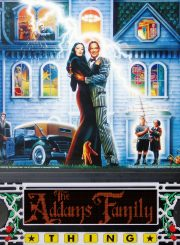 The Addams Family Pinball Machine Backglass